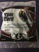 Cci Brand Dryer Cord Model 626 49388 4 Conductor 4 Ft Length Wires