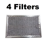 Microwave Grease Filter For Frigidaire 530444033 5 7 8 X 7 7 8 X 3 32 4 Pack