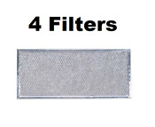 Aluminum Range Hood Filter For Whirlpool Wb06x10596 6802 A Af4318 4 Pack
