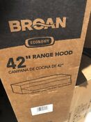 Broan 42 Stainless Steel Range Hood Model 424204 Ducted Non Ducted