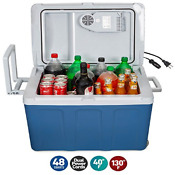 K Box Electric Cooler And Warmer For Car And Home With Wheels 48 Quart 45 6