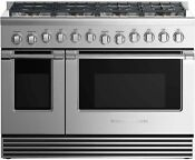 Fisher Paykel 48 Stainless Professional Gas Range 8 Burners Rgv2488nn