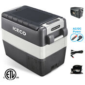 Iceco Jp50 Portable Fridge Freezer Car Refrigerator Dc 12 24v Ac 110 240v