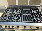 Viking Range Vgsc4856gss 6 Burners And Griddle Gas Local Pickup Condition