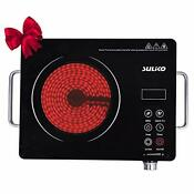 Suliko Electric Cooktop 1800w Portable Countertop Burner Sensor Touch