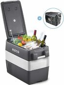 Iceco Jp40 42 Quarts Portable Freezer Fridge 12v Cooler For Camping Rv Caravan