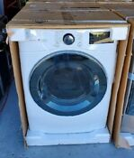 7 4 Cu Ft White Ultra Large Capacity Electric Dryer With Sensor Dry Turbo Steam