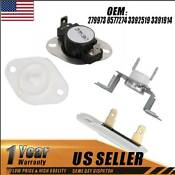 279973 Kit Dryer Thermal Fuse Thermostat Kit Wp8577274 For Whirlpool Wp3392519