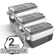 Setpower 32qt 42qt 53qt Portable Freezer Fridge 12v Cooler Car Camping Truck Rv