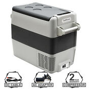 Setpower Aj50 53quarts Portable Freezer Fridge 12v Cooler Car Camping Truck Rv