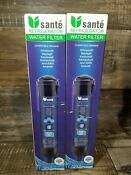 2 Pack Sante Water Filter 3 For Whirlpool Pur Kenmore 46 9020 4396710