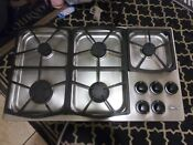 Dacor Stainless Steel 36 In Gas Cooktop Cook Top 5 Burner