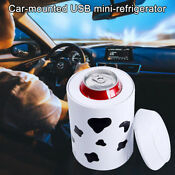 Portable Home Built In Semiconductor Mini Usb Cooler Warmer Car Fridge Beverage