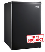 Mini Refrigerator 2 4 Cu Ft Single Door Small Fridge Kitchen Dorm Office Black