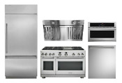 Monogram Pro Appliance Package With 48in Dual Fuel Range And 36in Refrigerator