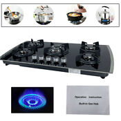 30in Built In Gas Cooktop 5 Burners Ng Lpg Convertible Stainless Steel Gas Stove