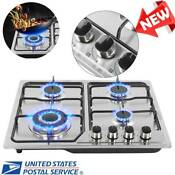 Stainless Steel 4burners Gas Stove Natural Gas Propane Gas Builtin Stove