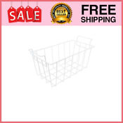 White Refrigerator Freezer Basket Replacement For Ge And Haier Rf 0300 29