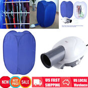 Portable Electric Clothes Drying Machine Fast Dryer Folder Dryer Bag Home Travel