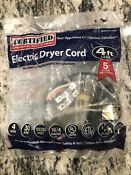 Certified Appliance Accessories 4 Electric Dryer Cord Lot Model 90 2020