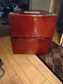 Kenmore Washer Dryer Pedestals 2 Candy Red Very Nice Very Mint Local Pickup