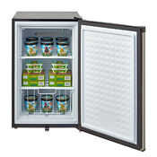 3 0 Cu Ft Compact Upright Freezer Garage Stainless Steel Lock Apartment Dorm Us