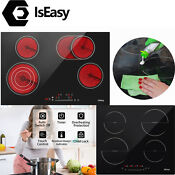 30 24 Drop In Electric Ceramic Cooktop Induction Cooktop 4 Burner Touch Us