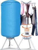 Portable Electric Laundry Clothes Ventless Folding Drying Machine With Heater