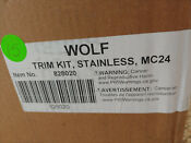 Wolf E Series 29 88 Stainless Steel Convection Microwave Trim 828020