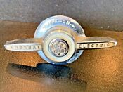 Vintage Ge General Electric Range Stove Appliance Knob Switch Chrome On Off