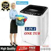 Washing Machine Nictemaw Portable Washer 17 6lbs Capacity Full Automatic Quiet