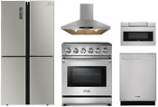 Thor Appliance Package With 30 Electric Range 24 Sharp Microwave Drawer