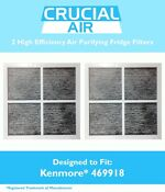 2 Repl Kenmore Elite 9918 Air Purifying Fridge Filters Part 469918 04609918000