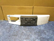 Kenmore Washer Control Panel Part 8182243