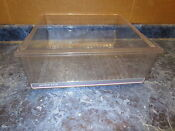 Amana Refrigerator Crisper Drawer Pink Stripe Part D7782017