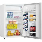 4 4 Cu Ft All Refrigerator Mini Fridge Compact Counter Top Cooler White New