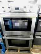 Dcs 30 Stainless Steel Double Convection Wall Oven