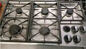 Used 36 Inch Dacor Stainless Steel Cooktop 5 Burners