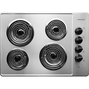 Frigidaire Ffec3005ls 30 Electric Cooktop With Ready Select Controls