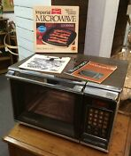 Working 1980s Amana Radarange Touchmatic Ii Microwave Oven 1500w Owners Manual