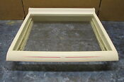 Amana Refrigerator Deli Pan Shelf Frame W Pink Part 10809615 10809609