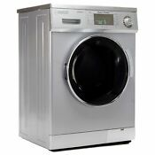 Equator 13 Lb Silver Convertible Combo Washer Dryer With Optional Venting