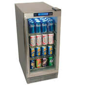 Edgestar Obr900ss 15 W 84 Can Built In Outdoor Beverage Refrigerator With Triple