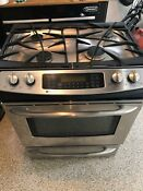 Ge Profile 30 Dual Fuel Stainless Steel Convection Range