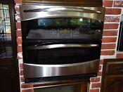 Ge Profile 30 Wall Double Oven Stainless Steel With Convection Self Cleaning