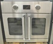 Bluestar 30 Single French Door Convection Oven Completely Refurbished Stainless