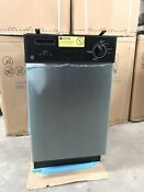 New Old Stock Ge Spacemaker Stainless Steel 18 Built In Dishwasher Stainless