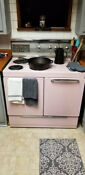 Retro 1963 Frigidaire Deluxe Imperial Stove Pink Mid Century Great Shape