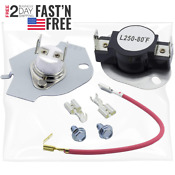 Electric Dryer Thermostat Thermal Cutoff Kits Whirlpool Wed5300sq0 Kenmore 400