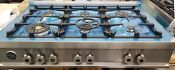 New Out Of Box Bertazzoni 36 Range Top 6 Burners Built In Stainless Steel